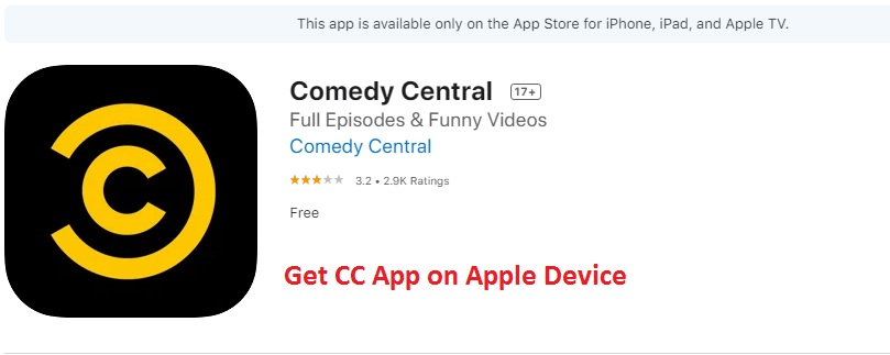 Comedy Central on Apple TV