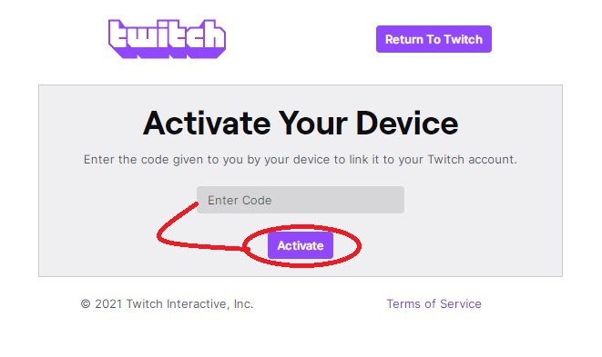 https twitch tv activate