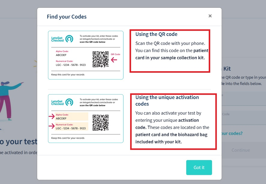 How to Find LetsGetChecked Codes