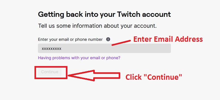 Twitch Username Recover